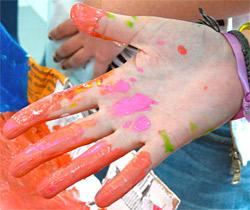 bafa peinture main