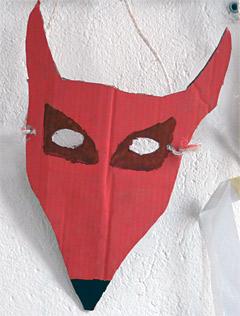 masque loup bafa